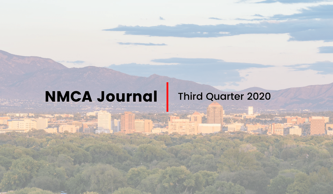 NMCA Journal – Third Quarter 2020