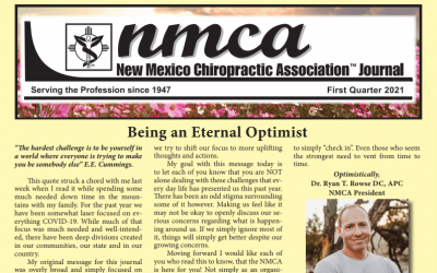 NMCA Journal – First Quarter 2021